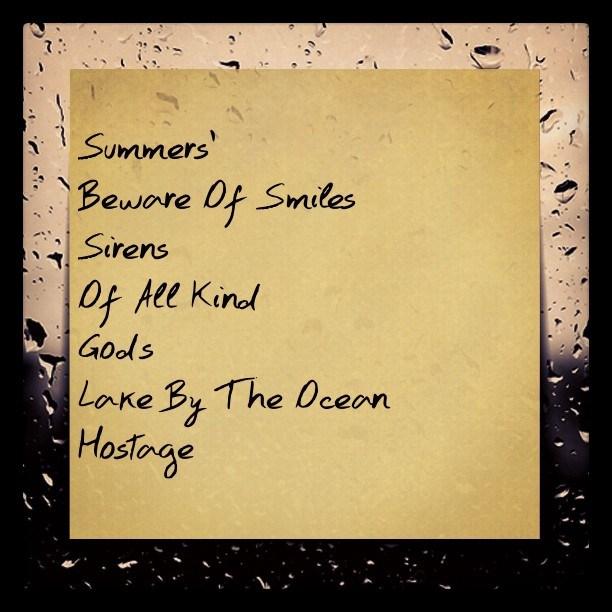 Maxwell-Summers-LP-Tracklist