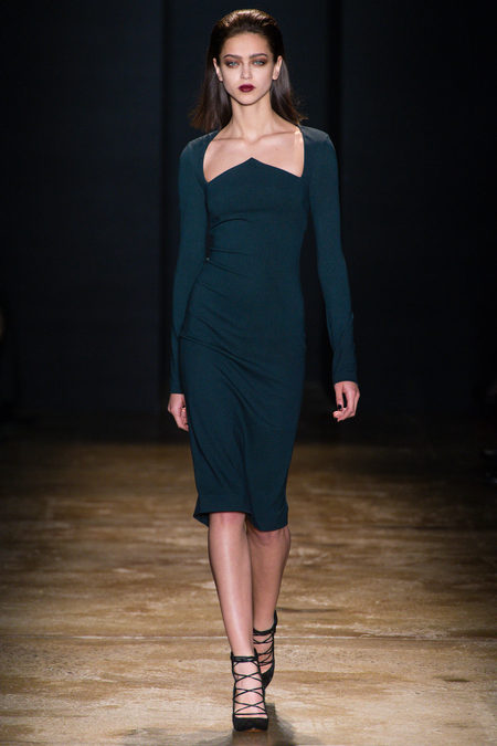Cushnie Et Ochs Fall 2013 trend emerald