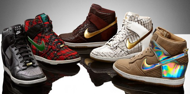 "fcbccd436759e Have You Heard? Nike Dunk Sky High ""City Pack"" – Peacock Under Pressure"