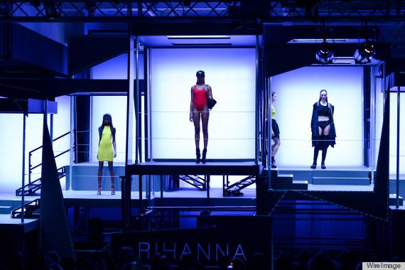 Rihanna For River Island - Photocall - LFW F/W 2013