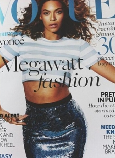 Beyonce Vogue UK 2013