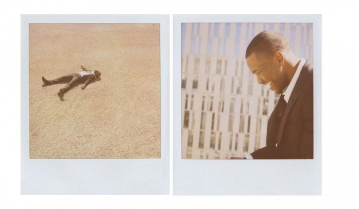 Frank Ocean Band of Outsider Polaroid Campaign