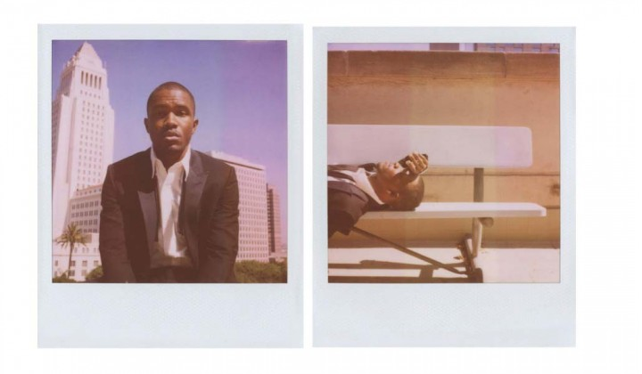Frank Ocean Band of Outsider Polaroid Campaign1