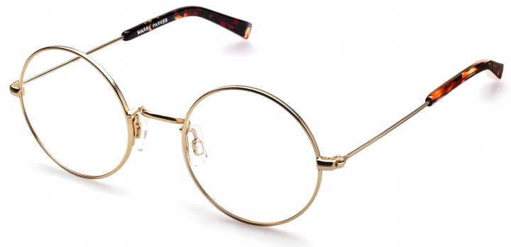 Duke Optical Frames in Gold