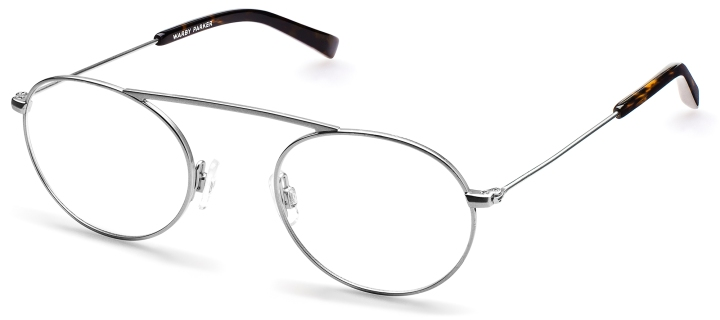Joplin Optical Frames in Silver