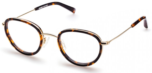Porter Optical Frames in Whiskey Tortoise