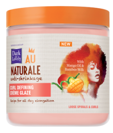 Dark and Lovely Au Naturale Curl Defining Crème Glaze