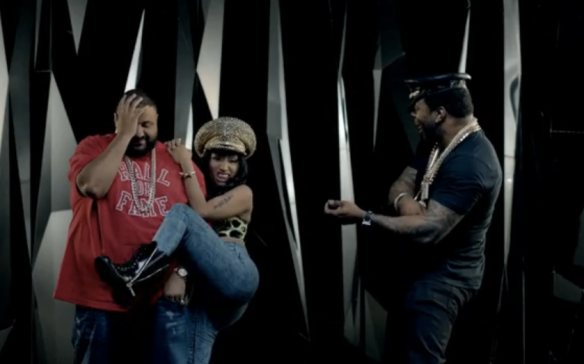 Busta Rhymes and Nicki Minaj team for  video Twerk It