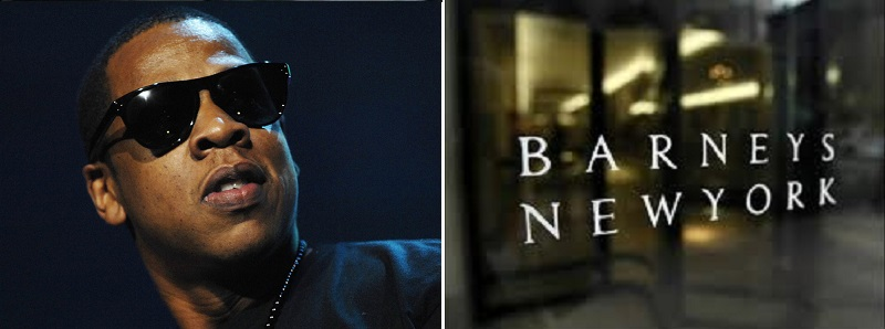 Jay-Z is rumored to partner with Barneys New York.