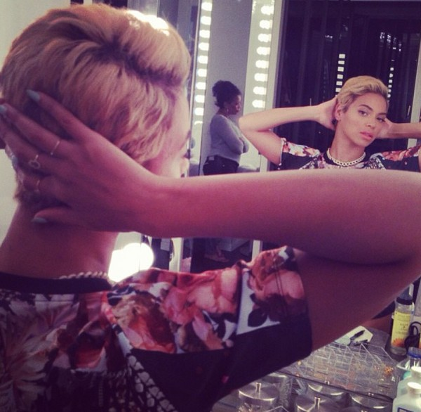 Beyonce debuts new pixie cut on Instagram