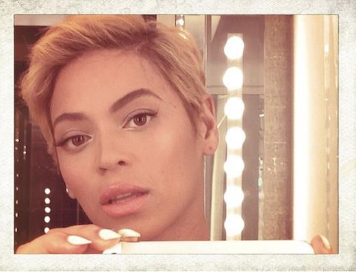Beyonce-pixie-hair-cut-peacock-under-pressure