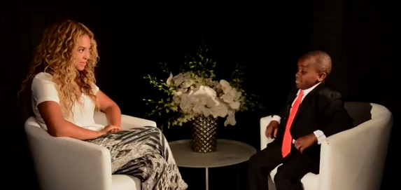 Kid President Interviews Beyonce