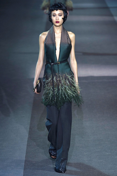 Louis Vuitton Fall 2013 Trend Of Emerald