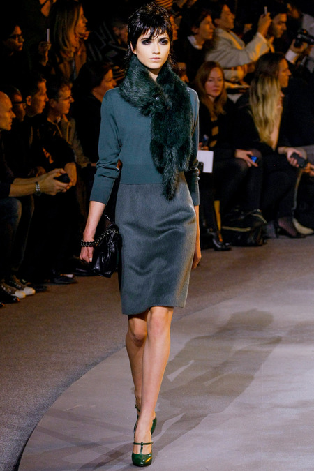 Marc Jacbos Fall 2013 Trend Of Emerald