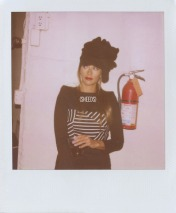 Rashida and Kidada Jones model for Band Of Outsiders