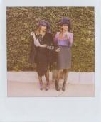 Rashida and Kidada Jones model for Band Of Outsiders