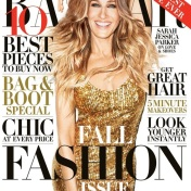 Sarah Jessica Parker is on the cover of Harper's Bazaar September 2013 issue