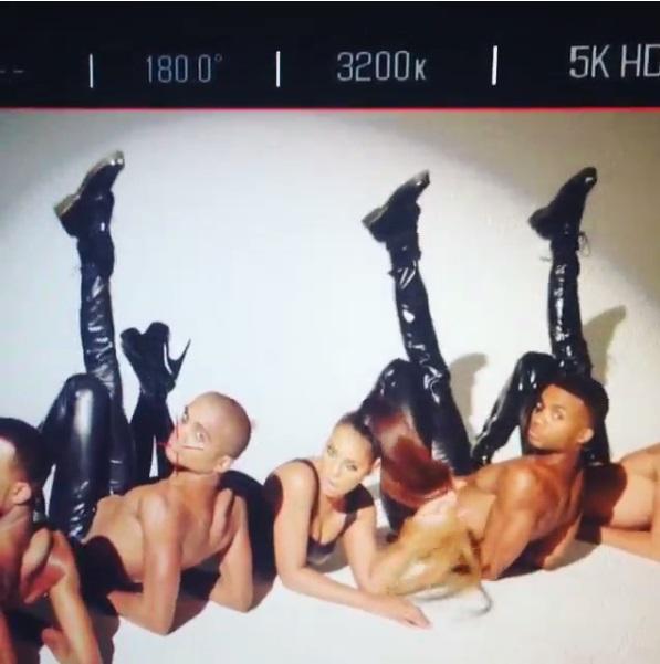 Tamar Braxton Behind The Scenes