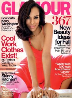 Kerry Washington Glamour October 2013 Cover
