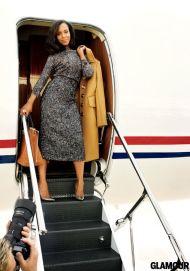 Kerry Washington Glamour October 2013 Cover