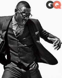 Idris Elba Cover Of GQ October 2013