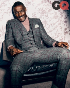 Idris Elba Cover Of GQ October 2013