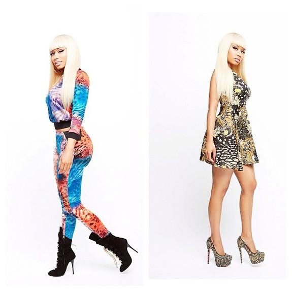 Nicki Minaj debut Kmart Collection