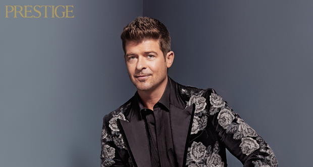 Paula Patton and Robin Thicke cover Prestige Magazine