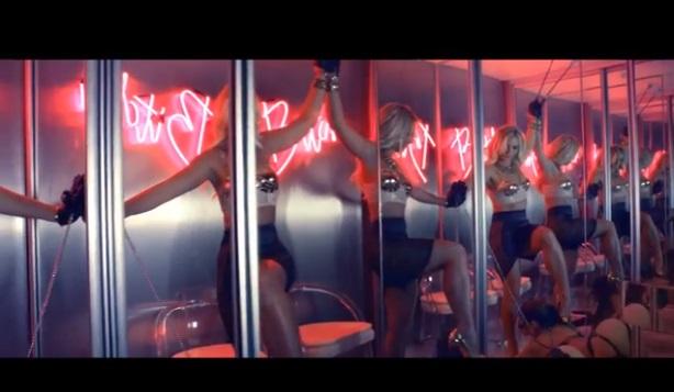 Britney Spears new video, Work Bitch