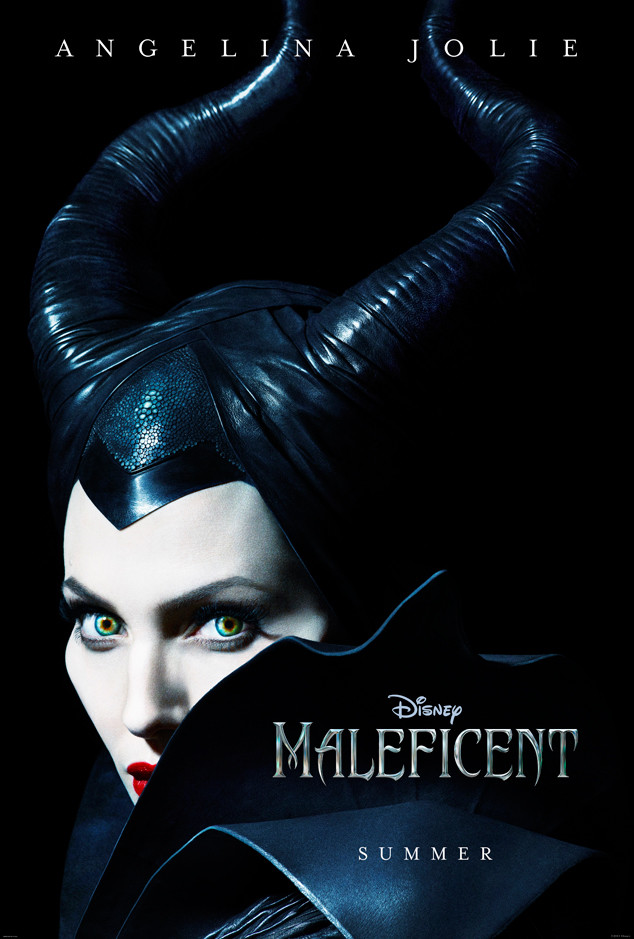 First Look at Angelina Jolie as Maleficent