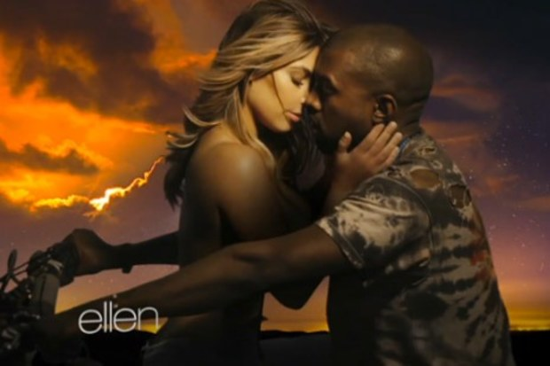"Kanye West debuts new video ""Bound 2"""