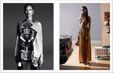 Erykah Badu face of Givenchy Spring 2014 Campaign